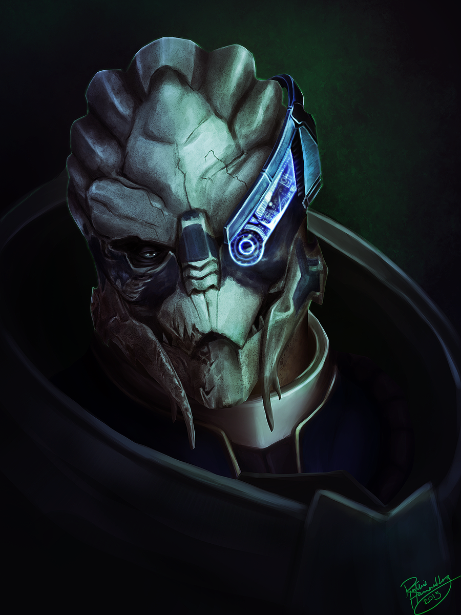 Mass Effect: Garrus Vakarian by ruthieee