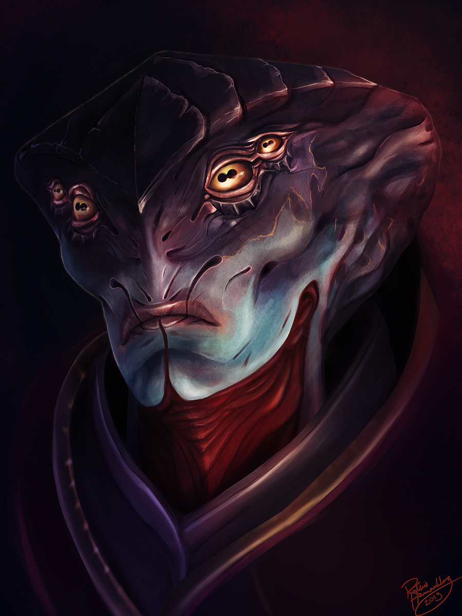 Mass Effect: Javik by ruthieee