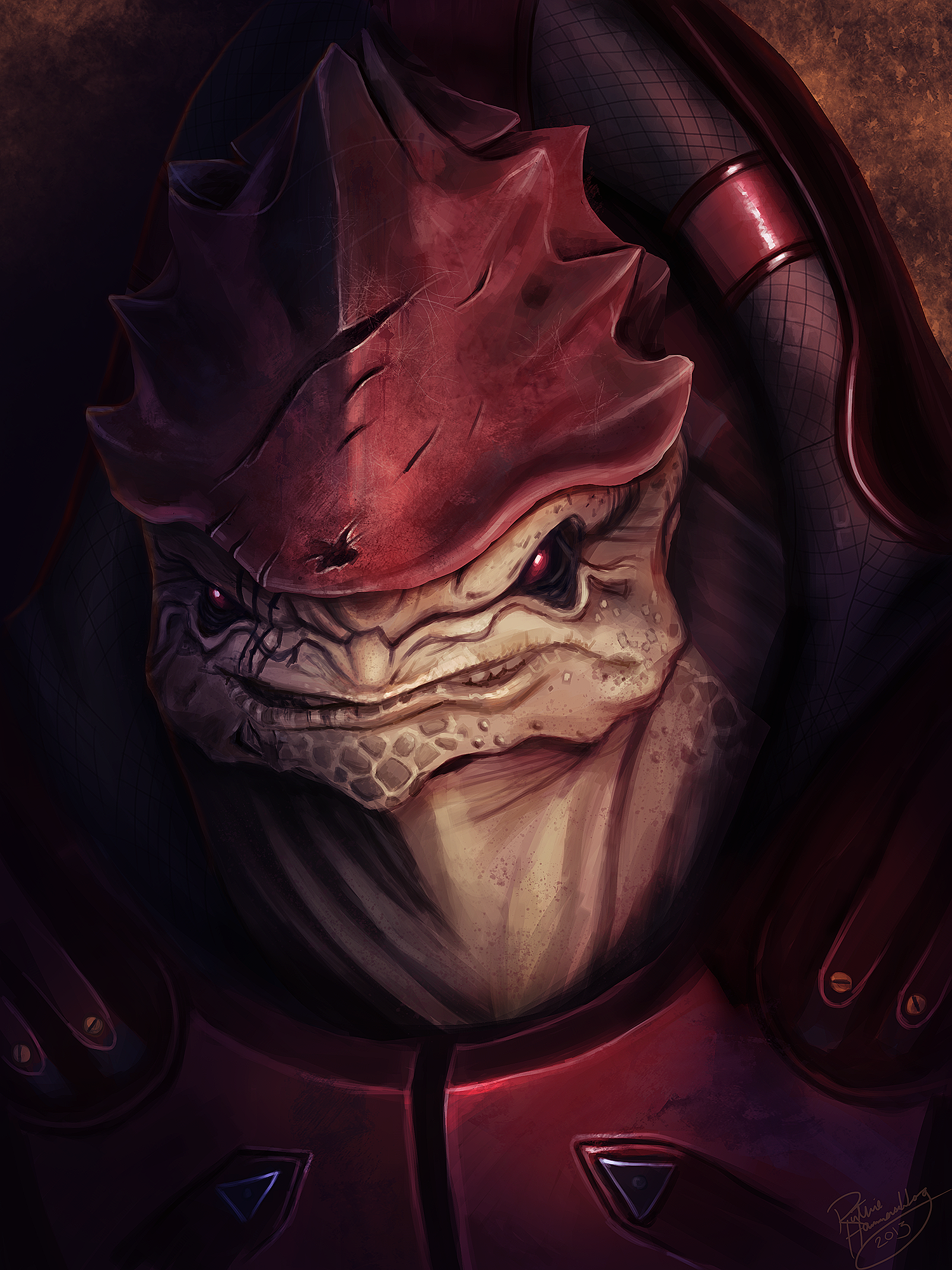 Mass Effect: Urdnot Wrex