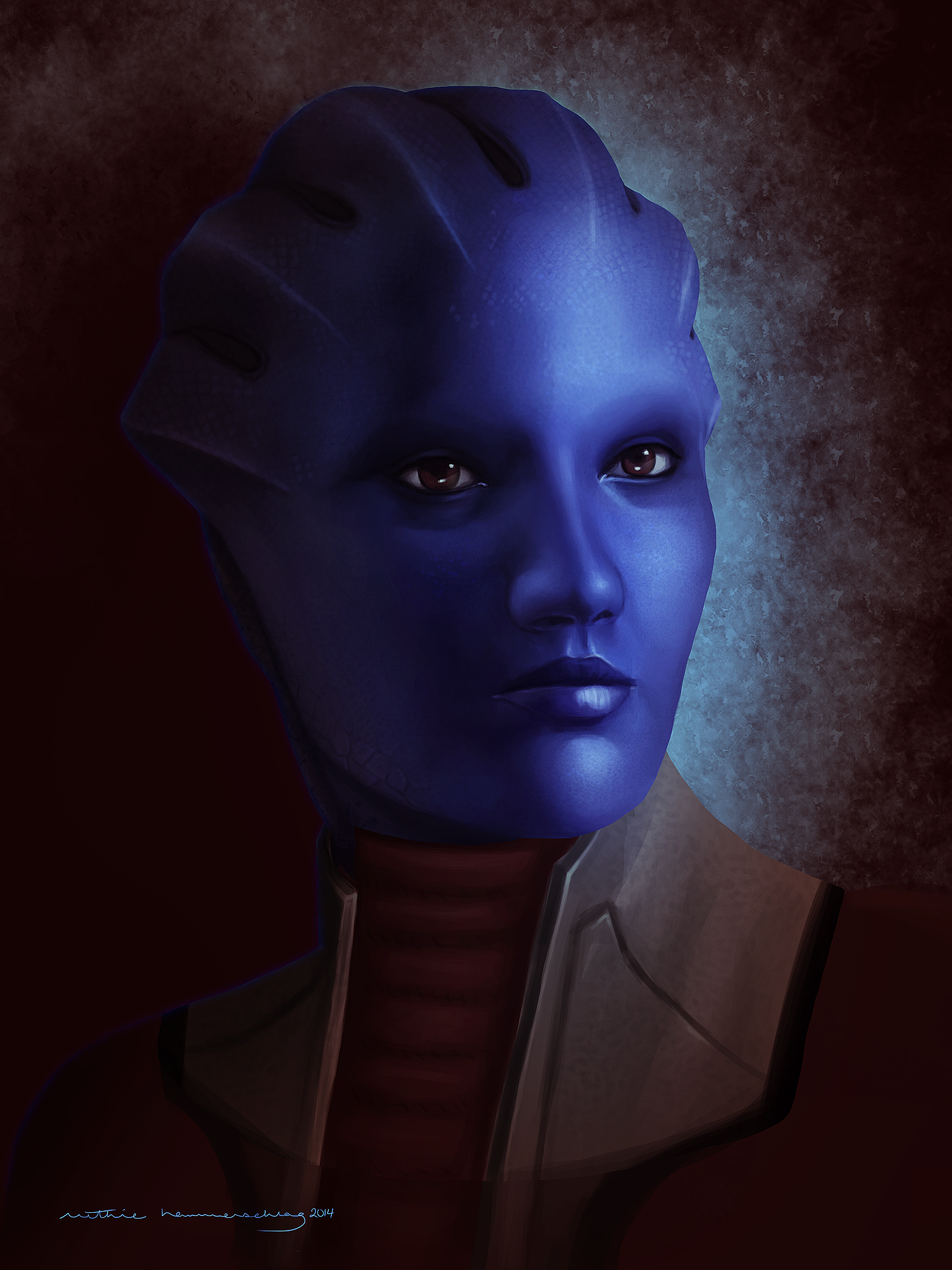 Mass Effect: Matriarch Aethyta by ruthieee