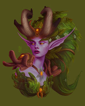 World of Warcraft // Heroes of the Storm: Lunara