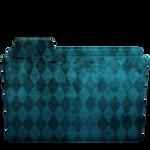 Folder Diamond Blue 1