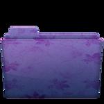 Folder Flower Purple