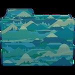 Mountain Folder
