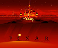 Disney and Pixar Logos from Incredibles 2 (2018) by MrAcrizzy