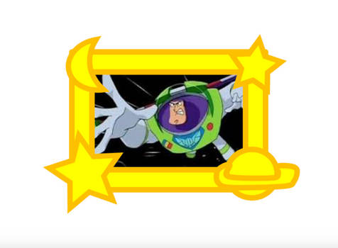 Buzz Lightyear in the Space Picture Frame by MrAcrizzy