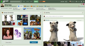 The last we'll see of the old design of DeviantArt