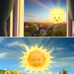 Teletubbies Baby Sun reference in The Boss Baby