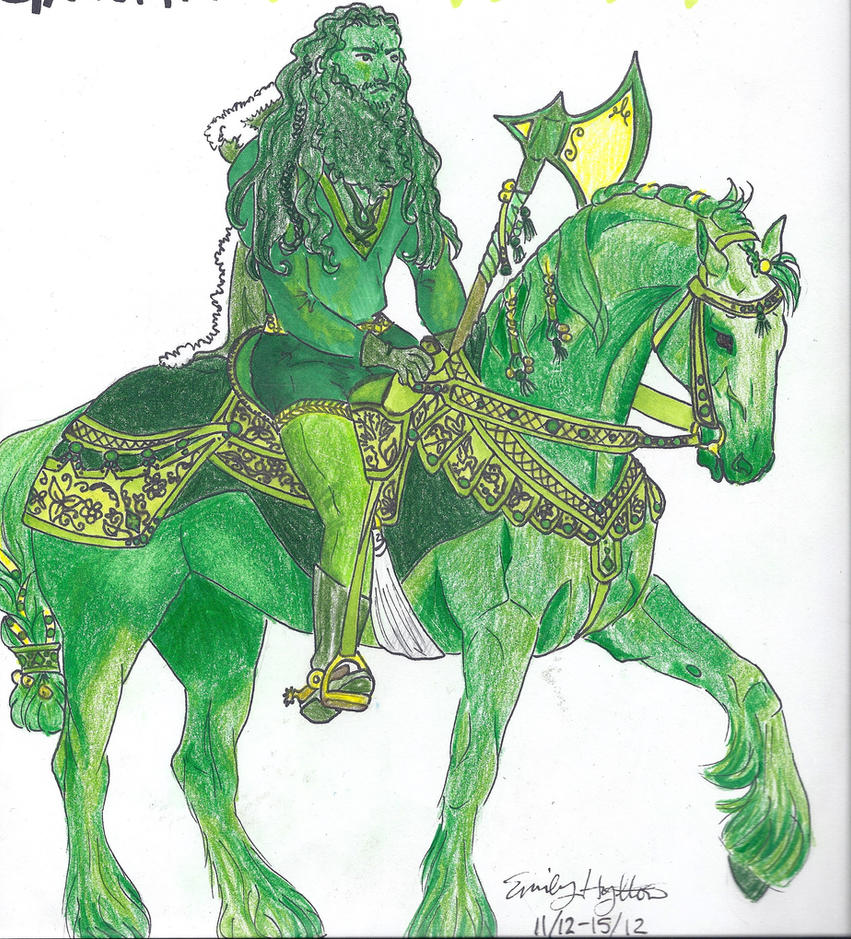 The Green Knight by eahylton