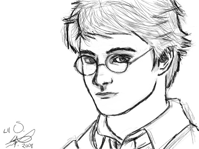 Harry Potter Sketch By XakariSL On DeviantArt