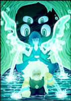 We're Malachite now - Steven Universe by AuraGoddess