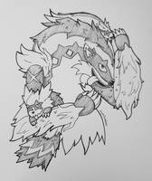 Galar Zigzagoon family - Pokemon sw/sh