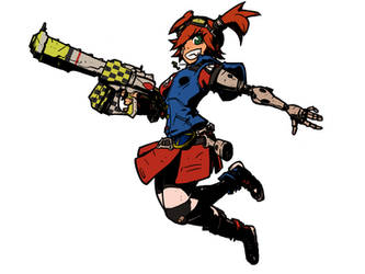 Borderlands2 Gaige by oldwillowJP