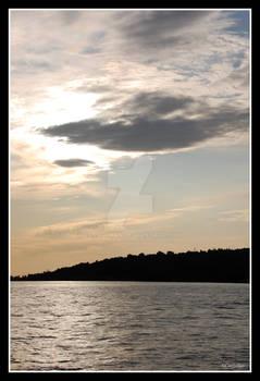 Dusk in Marmara Sea