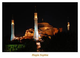 Hagia Sophia by Curri-chan