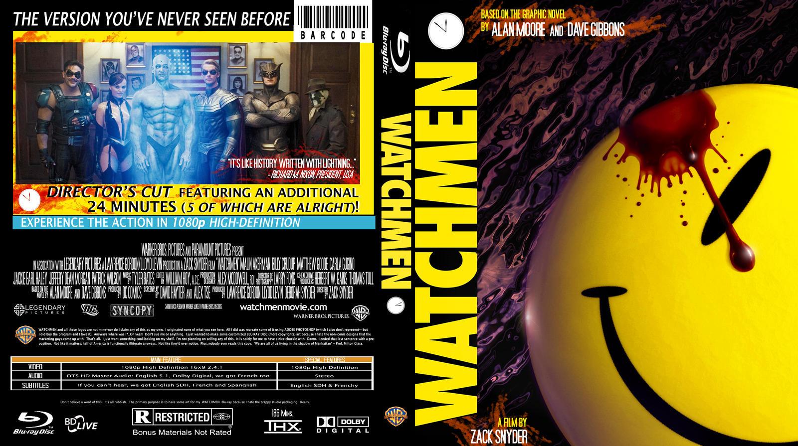 Watchmen Blu-Ray Insert Art by Space-Ace-Sco on DeviantArt