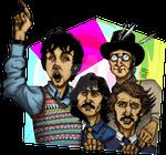 Beatles on the run