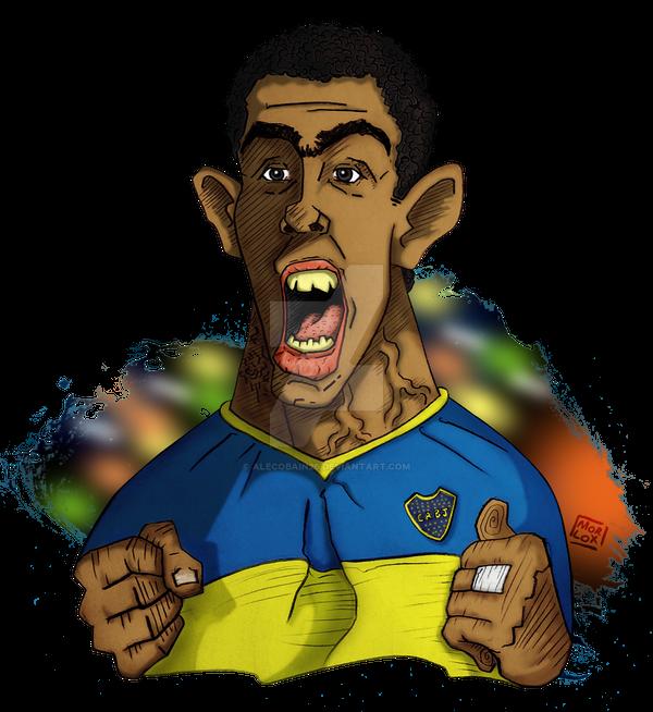 Carlos Tevez by Alecobain26