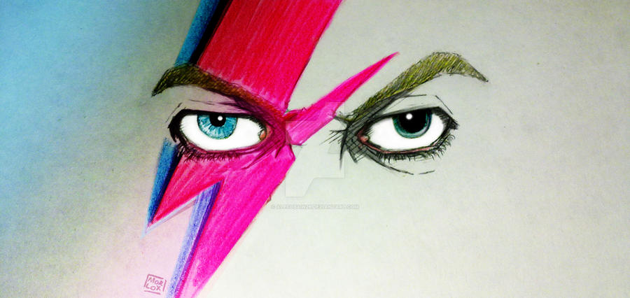 Bowie Eyes by Alecobain26