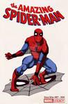 Spiderman 789 tribute Ditko