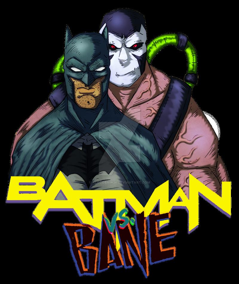 Batman Vs Bane by Alecobain26