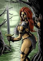Red Sonja by firegoyle