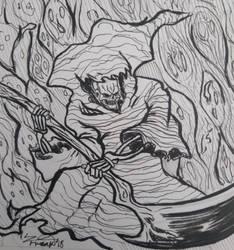 Inktober 2018 #31: Slice by Ze-Freak