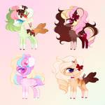 Lil Ponies  - CLOSED by Floretle
