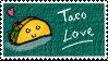 Taco Love Stamp by RL-masteroftheblade