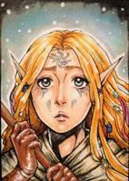 The avariel by Bloodrawen