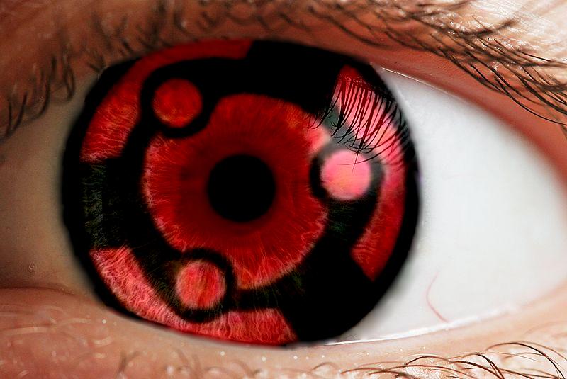 Itachi sharingan contacts