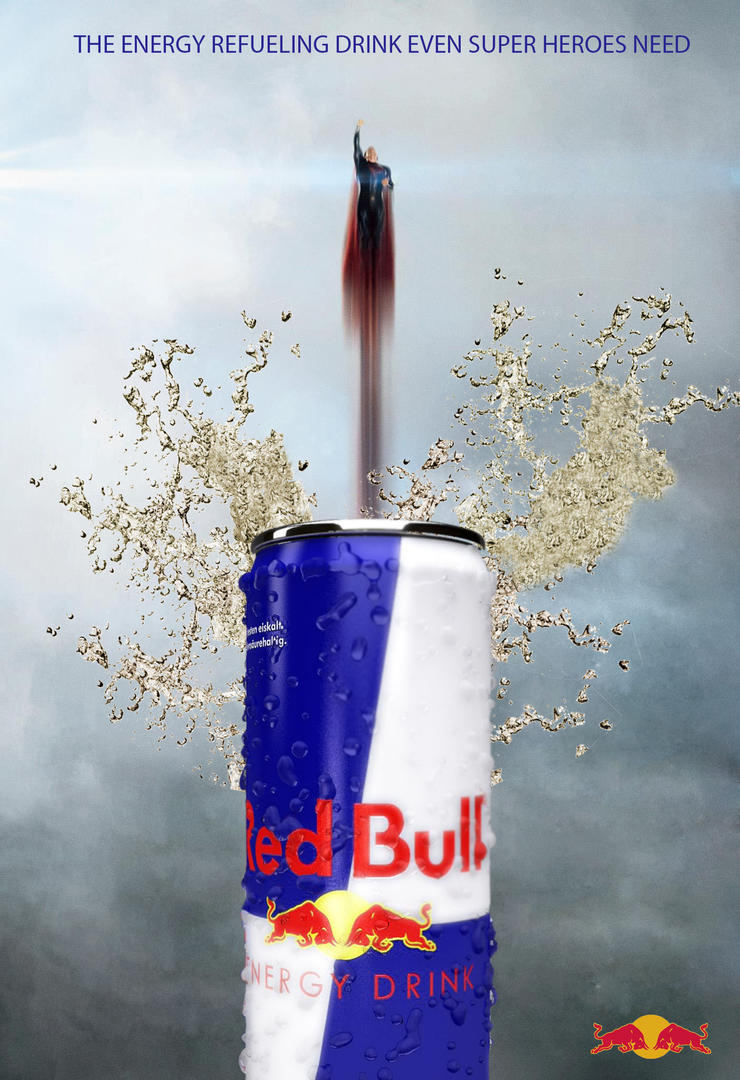 Advertising Design Redbull by dhiddenartist2011 on DeviantArt