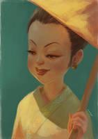 Lady of Lanna by webang111