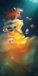 Lady Goldfish Dress by webang111
