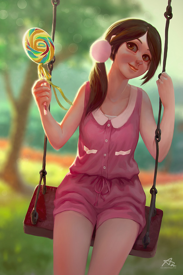 Sweety by webang111