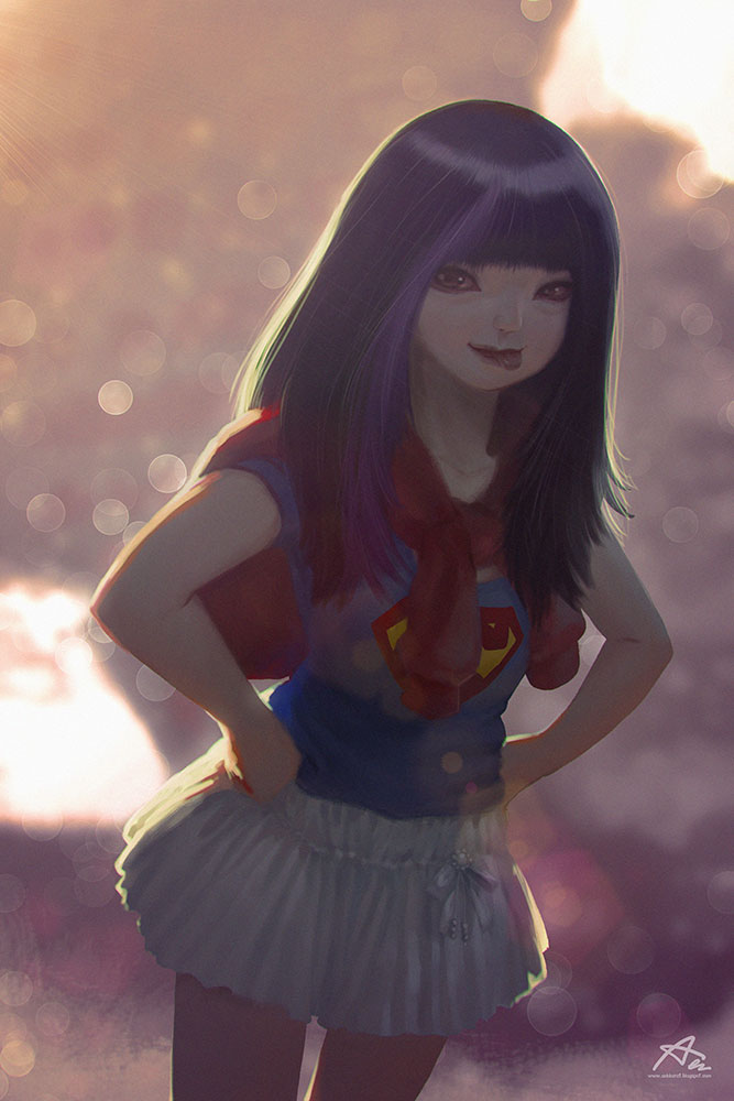 Super Girl min by webang111