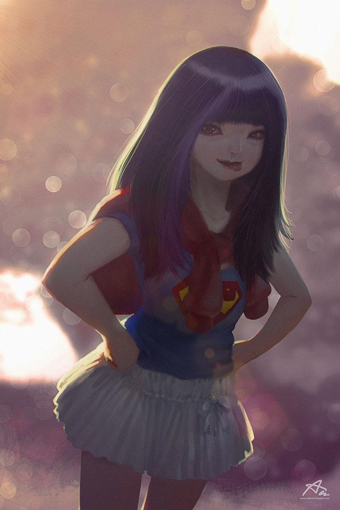 Super Girl min by webang111
