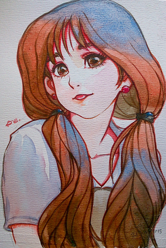 Watercolors  #14 by webang111
