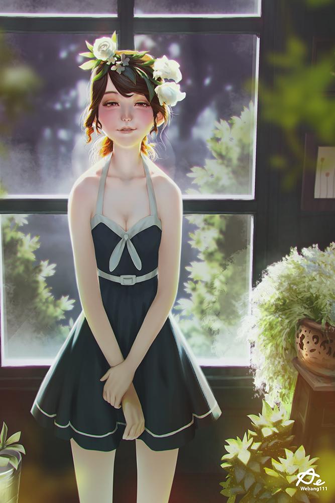 White Roses by webang111