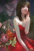 Red Dresses by webang111