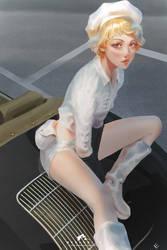 White Uniform #3 by webang111