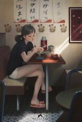 Good Morning Dear Sister by webang111