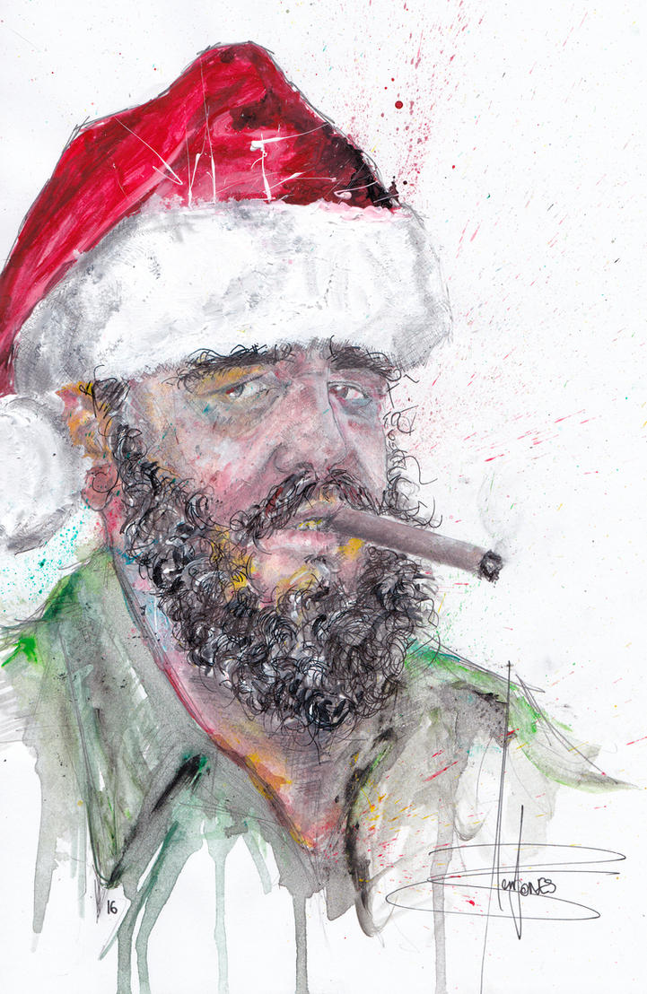 Fidel Christmas by Benjones801