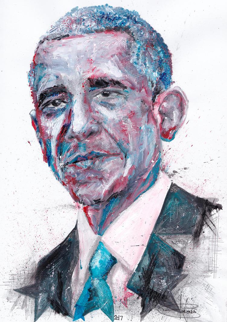 Barack Obama by Benjones801