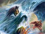 Typhoon surge