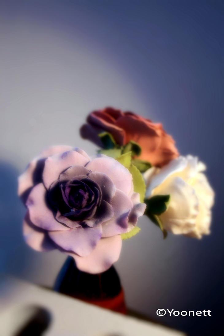 Three Roses 1 by Yoonett