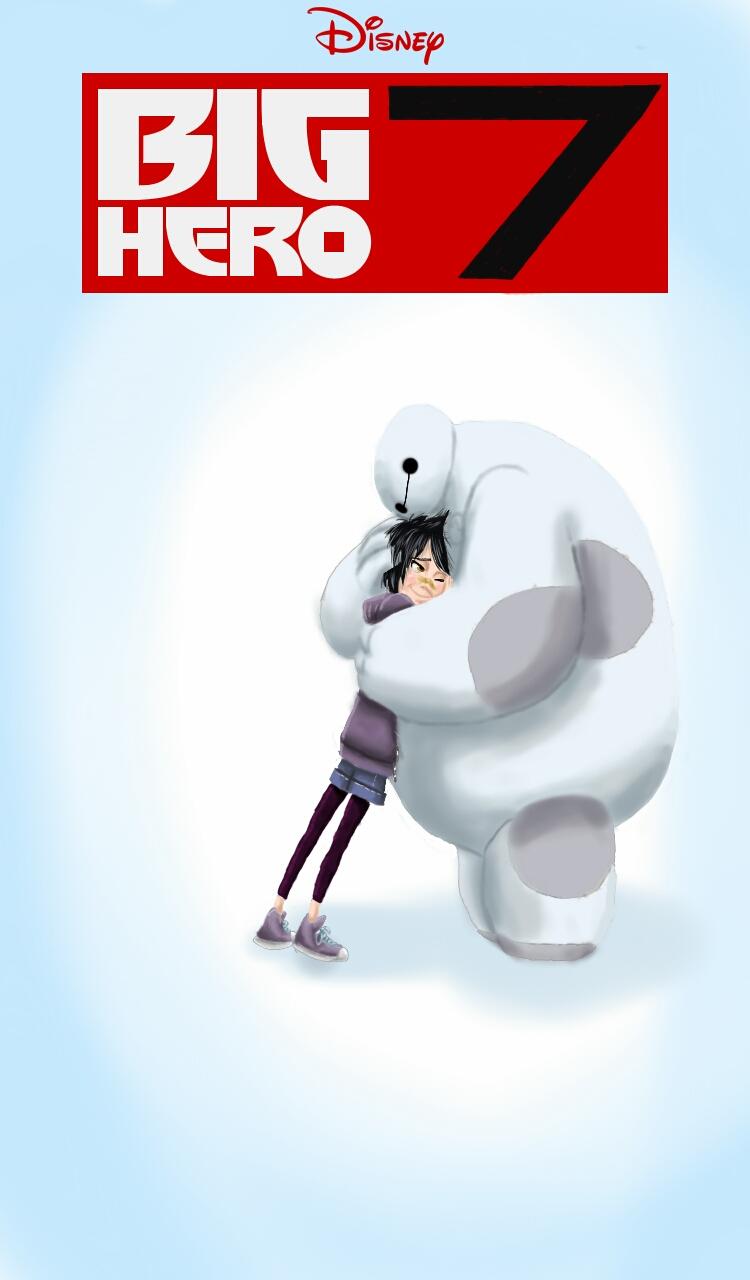 Big Hero 7 Movie cover (made by me) by RandomSketchz on