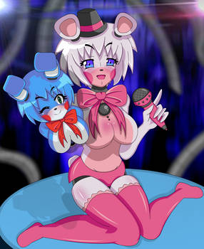 Funtime Freddy| Anime FNIA style | Sister Location