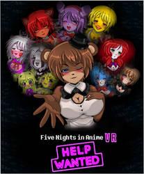 FNIA VR: HELP WANTED   FNaF HW Parody