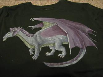 Silver Dragon Tshirt
